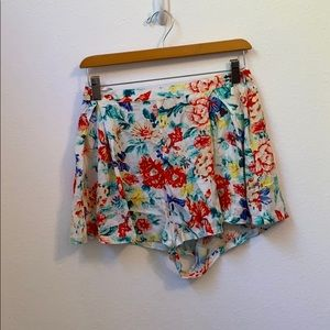 MINKPINK medium floral shorts